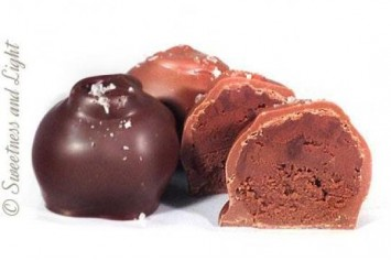 Sal's Salted Chocolate Truffles